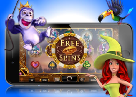 online casino slot freespin