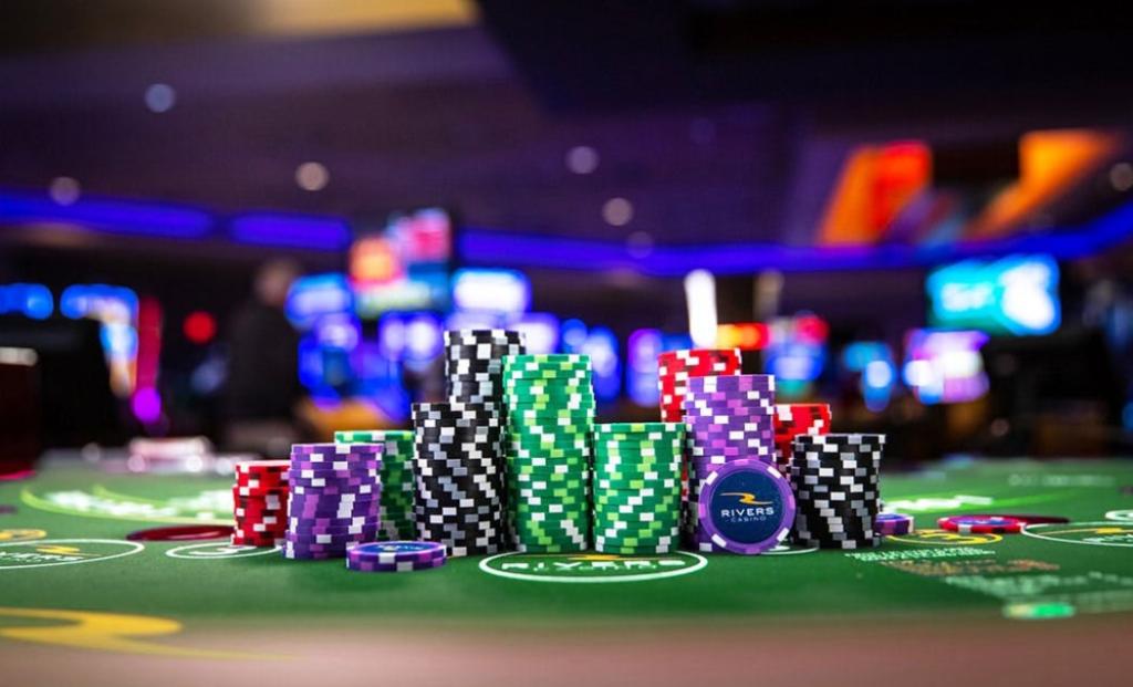 casino chip dealer